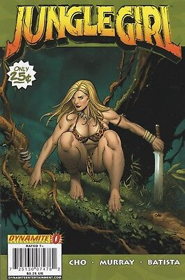 Jungle Girl #0 2007 Dynamite Entertainment.  VF-
