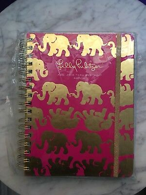 2016-2017 Lilly Pulitzer Agenda TUSK SUN 17 Mo Date Planner