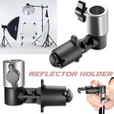 Video Photography Studio Background Reflector Disc Holder Clip F/Light Stand Hot