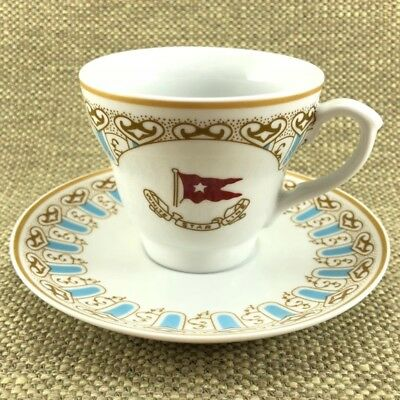 Wisteria Cup And Saucer Authentic Titanic Artifact Collection