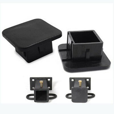 Upper Bound Universal Class 3 III and Class 4 IV 2 Black Trailer Hitch Cover Cap Plug Car Wash Proof 2 Inch UB50011
