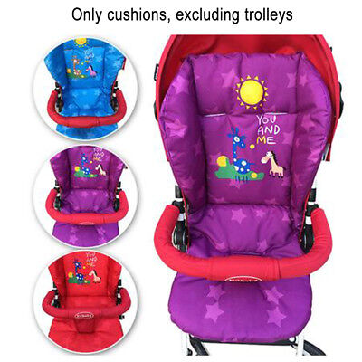 Universal Children Baby Stroller Pram Pushchair Seat Liner Mat Pad Cushion