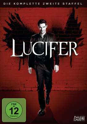 Lucifer Die Komplette Zweite Staffel / Season 2 Dvd Deutsch