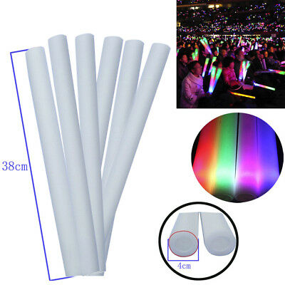 Modern Light Up Foam Sticks Glow Party Club LED Flashing Vocal Concert Reuseable
