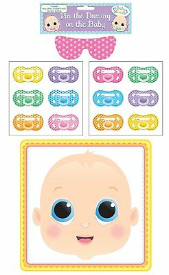 Henbrandt Pin The Dummy Baby Shower Party Game For 12  Guests