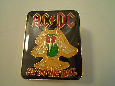 Vintage   AC/DC    Unused  BADGE  PIN      heavy metal     acdc patch