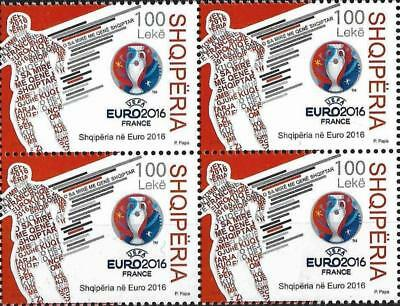 European Football/sports/soccer/euro Championship Albania 2004 Fdc Set Mnh Cheapest Price From Our Site