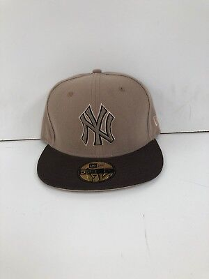 New York Yankees New Era Men's MLB Club Snapback Caps - Khaki/Brown - New