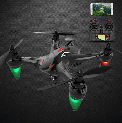 WIFI RC Quadcopter 5G Remote Drone W/ 720P Camera GPS FPV Brushless Control
