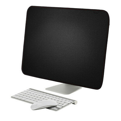 """Soft Cover Monitors Black Computer Cover For iMac 21.5/27"""" Dust Case Protective"""