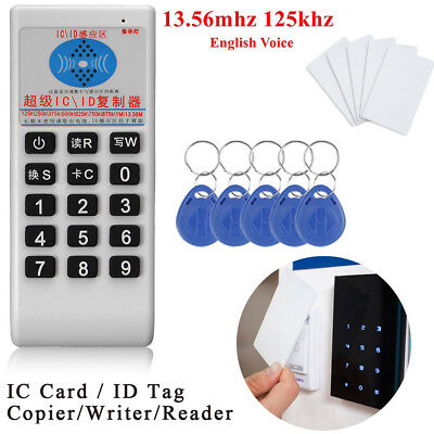 Frequency 125KHz 13.56MHz IC Card ID Tag Writer Reader Copier RFID Duplicator