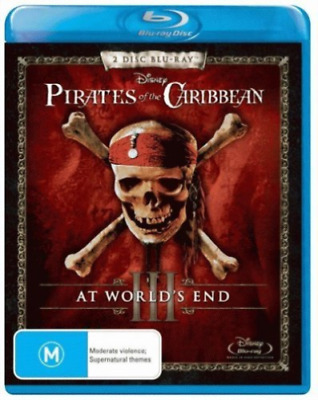 Pirates Of The Caribbean: At World`S End Blu-Ray Region B [New & Sealed]