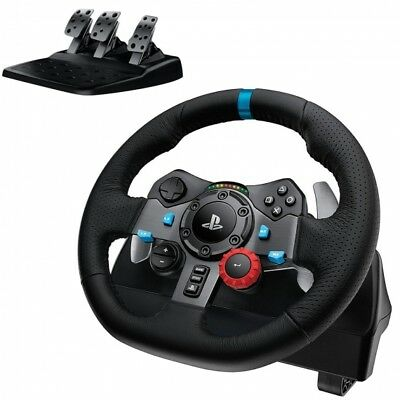 Volante con Pedales Logitech G29 Driving Force para Playstation 3 4 y PC