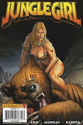 Jungle Girl #4 2008 Dynamite Entertainment.  VF