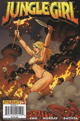 Jungle Girl #5 2008 Dynamite Entertainment.  VF