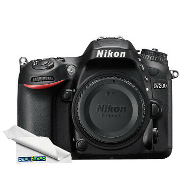 Nikon D7200 DX-format Digital SLR Camera (Body Only) #1554