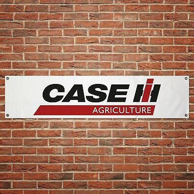 Case IH Banner Garage Workshop PVC Sign Tractor Farming Display