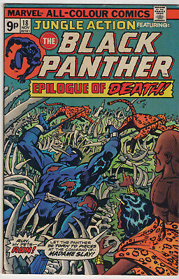Jungle action 18 black panther . 1975