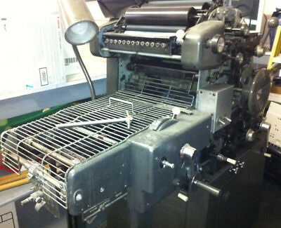 AB DICK 360 - CHAIN DELIVERY  - Offset Printing Press