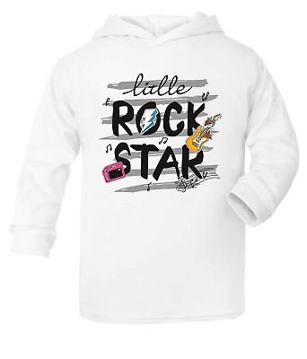 Little Rock Star Kids Hooded Top Hoodie Boys Clothes Tops Fashion Tops Girls