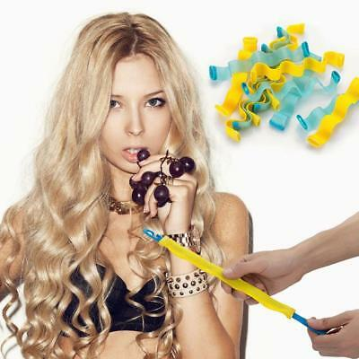 Hair Curlers Rollers 12pcs/set Styling Wavy Curlers Spiral Curls Styling Tools