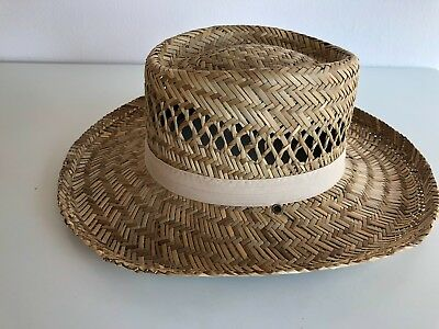 4ba51c9cd7c4c New Dorfman Pacific Men s Rush Straw Lightweight Outback Hat without Chin  Cord