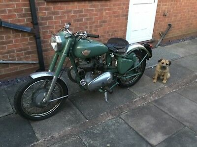 ROYAL ENFIELD 350cc BULLET, WAS REBUILT AND STORED SINCE 1994 IN A HEATED GARAGE