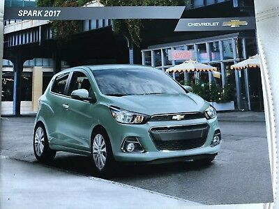 2017 CHEVY SPARK 12-page Original Sales Brochure