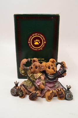 Boyds Bears & Friends - ALEXANDRA and BELLE...TELEPHONE TIED #019