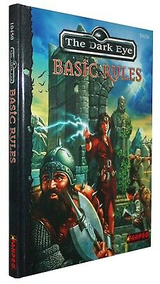 The Dark Eye-Basic Rules-DSA-Das Schwarze Auge-Rollenspiel-RPG-(HC)-engl.-new