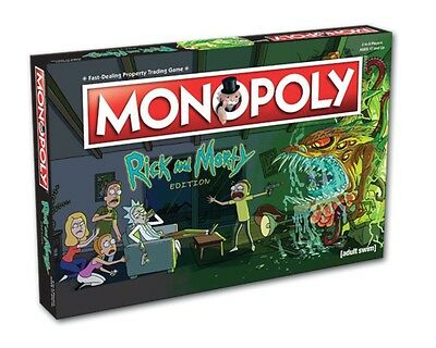 Monopoly Rick And Morty Board Game