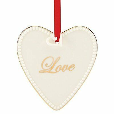 Lenox Expressions from the Heart Love Christmas Tree Holiday Ornament NEW