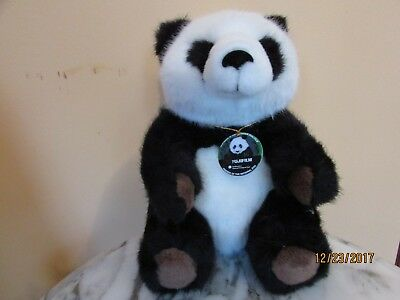 "Vintage PANDA BEAR National Zoo Fuji Film Promo Plush Stuffed Animal 8"" NEW"