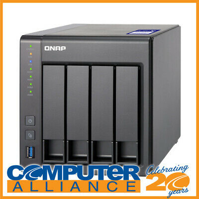 4 Bay QNAP TS-431X2-2G 10 Gigabit NAS Unit