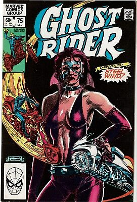 GHOST RIDER #75 - 1st Appearance of Steel Wind - FN/VF
