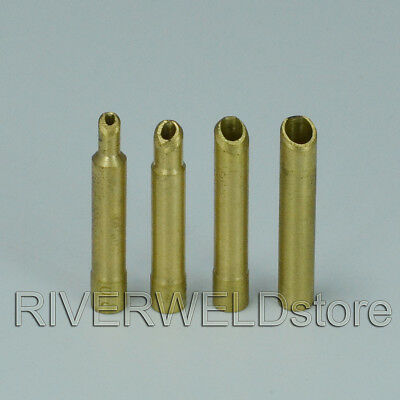 ".040"", 1/16"", 3/32"" and 1/8"" Wedge Collet Kit for 9 20 25 TIG Welding torch 4pk"