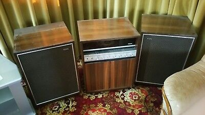 Thorn Model 1414 vintage radio record player hifi audio system stereo speakers