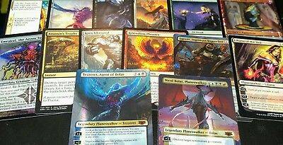 MTG Collection Planeswalker-Mythic's Legend's Rare Foil's 15 Rare bundle