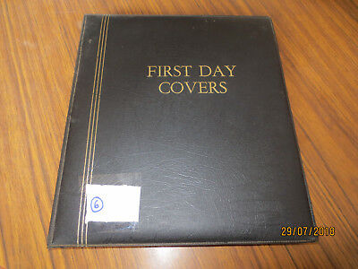 No-6-Cumberland  Fdc  Album  -24   D/sided  Pages --89  Fdc's  &  Envelopes