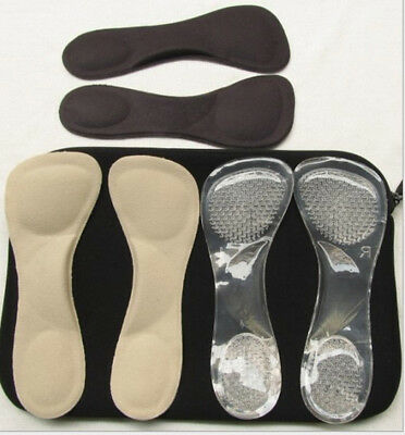 3/4 insoles High Heels Cushion Orthotic Arch Support Inserts Pad Flatfeet Shoes
