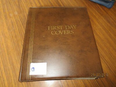 N0-7  Fdc  Album  -Cumberland  25 D/sided  Pages With  90  Fdc's  Included