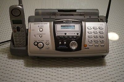 Panasonic KX-FPG379 2.4 ghz Cordless Phone Fax Copier Answering Machine