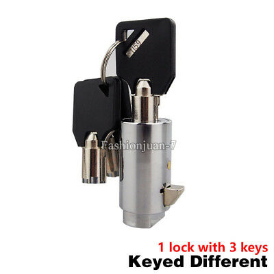 NEW 10PCS Universal Replacement Plug Lock for Snack/Soda Vending Machine w Keys