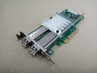 Sun Oracle 7051223 10GbE x520 Nic Dual Port PCIe Low Profile Adapter w/SFPs