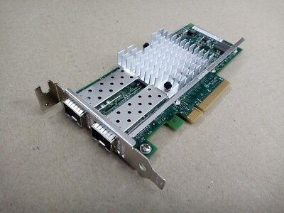 Sun Oracle 7051223 10GbE x520 Nic Dual Port PCIe Low Profile Adapter w/ No SFPs