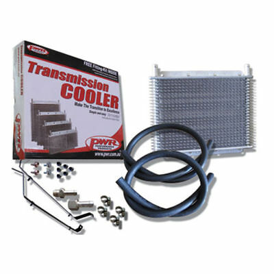 "PWR Trans Oil Cooler kit - HOLDEN Commodore VZ V6/V8 280 x 255 x 19mm 3/8"" barb"
