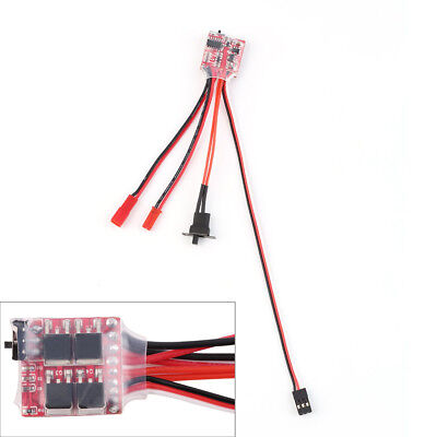 10A Bustophedon ESC Brushed Speed Controller For RC Car Truck Boat