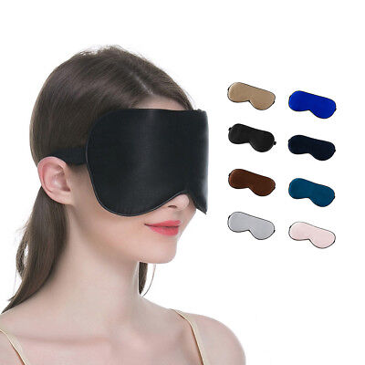 Travel Sleep Eye Mask soft  Memory Foam Padded Shade Cover Sleeping Blindfold