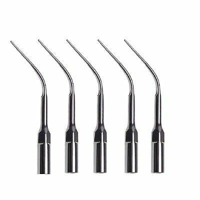 5 Dental Ultrasonic Scaler Perio Tips Fit Satelec DTE Handpiece PD3