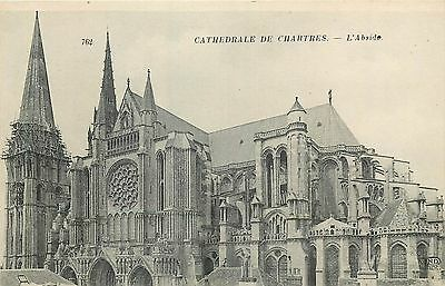 28 Chartres Cathedrale Abside Nd 17585